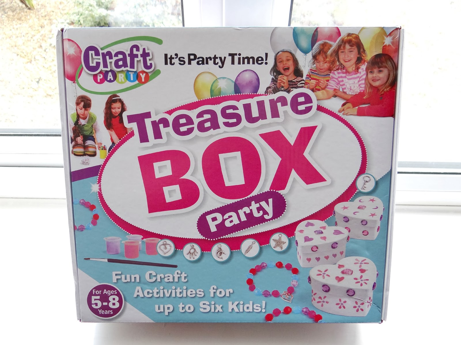 Interplay Treasure Box Craft Party, What to do on Play Dates, craft party