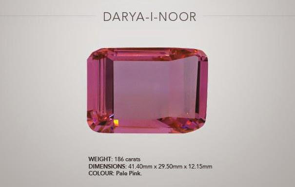 Darya-e Nur diamond of Golconda