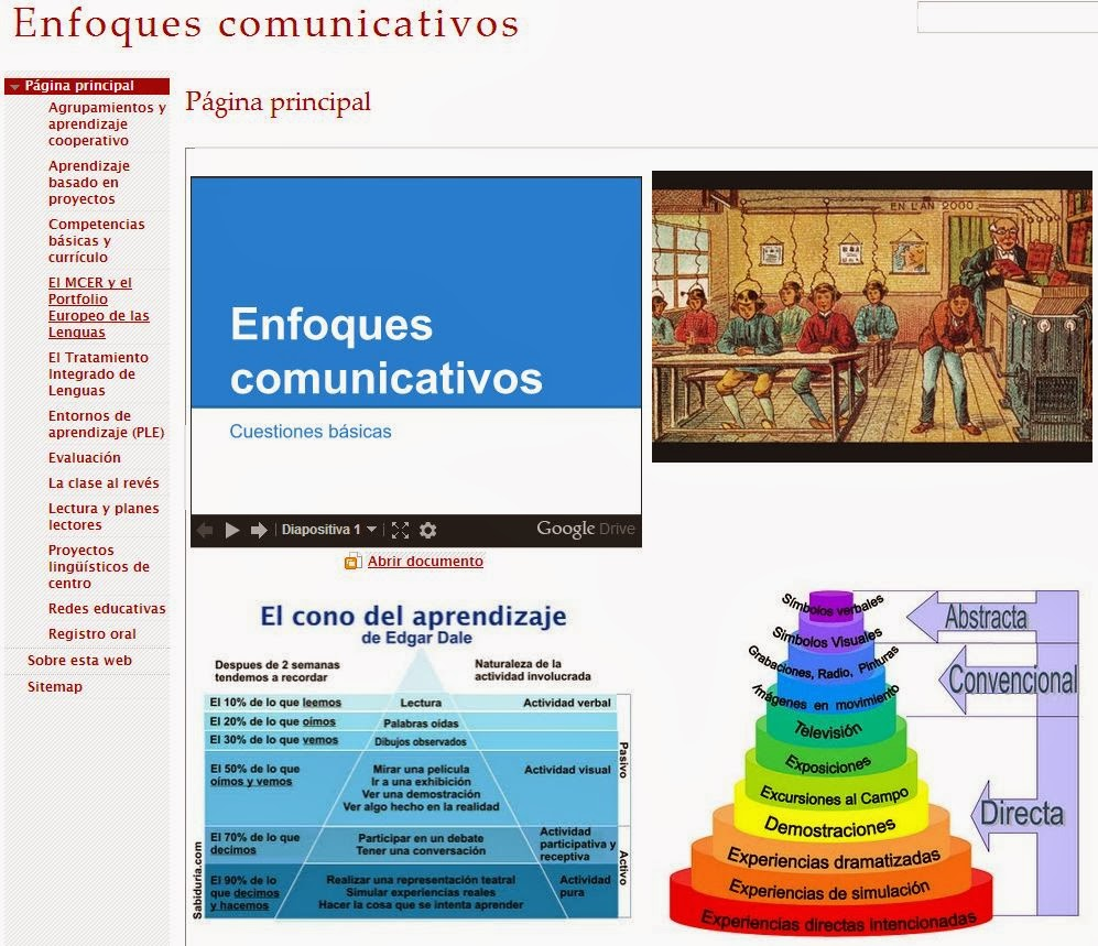 Enfoques comunicativos