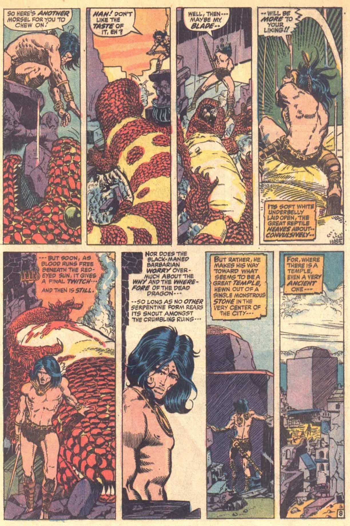 Conan the Barbarian (1970) Issue #8 #20 - English 9