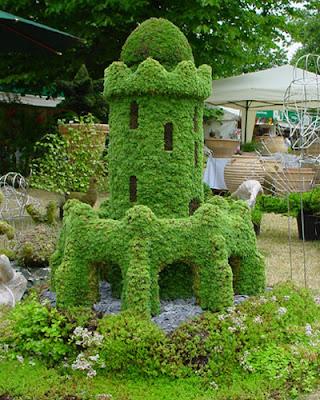 Arte y jardiner a arte topiario jardiner a ornamental for Que es un vivero ornamental