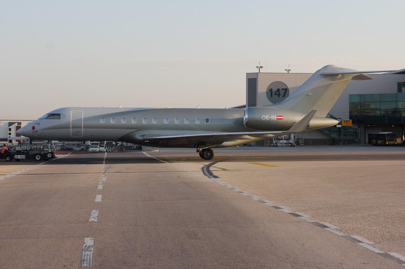 Jet Privato Niki Lauda : Flyingphotos magazine executive aviation oe iii cn