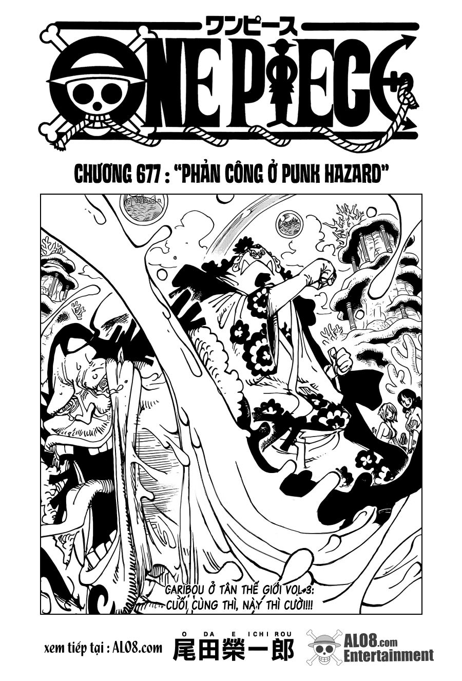 One Piece Chapter 677: Phản công ở Punk Hazard 001