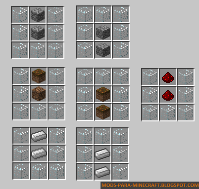 Crafteos del Mod Elevator 1.8