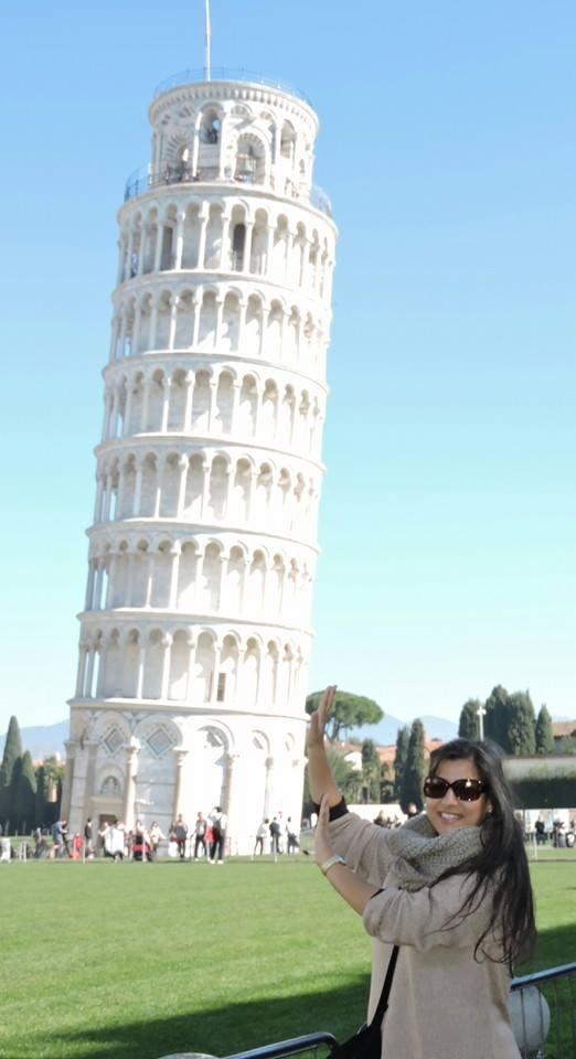 En Pisa Italia