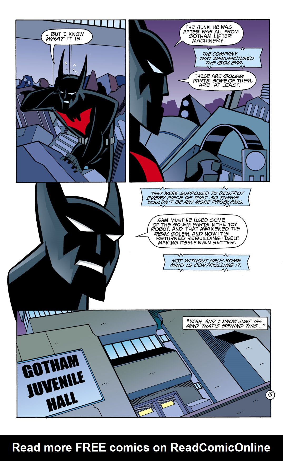 Batman Beyond [II] Issue #10 #10 - English 16