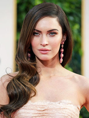 megan fox maquillaje paste, pastel makup, megan fox pastel make up, pastel red carpet look