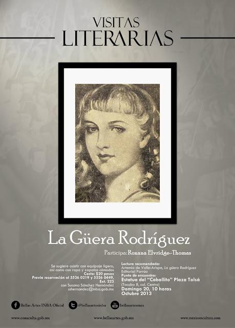 Paseo literario por el Centro Histórico con La Güera Domínguez