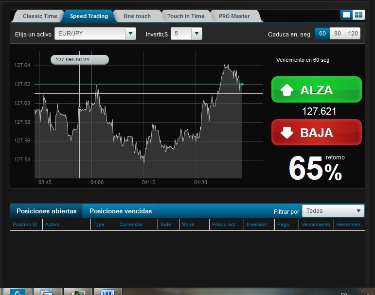 Binary option 50 60 sec