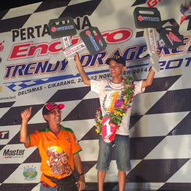 Hasil Drag Bike Delta Mas 23 November 2014