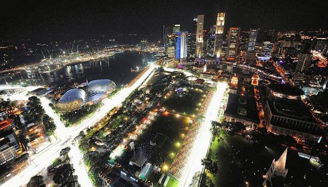 El Gran Premio de Singapur 2013 F1