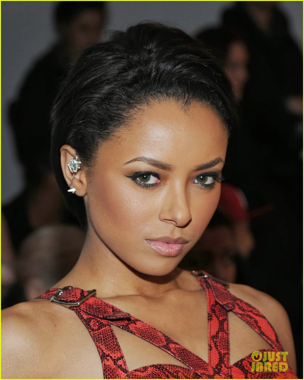 Kat Graham At The Jeremy Scott Fashion Show Held During Made Fashion