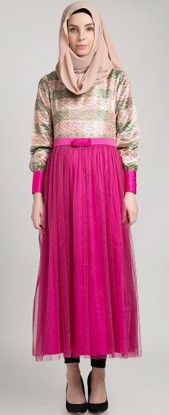 Baju Muslim Pesta Elegan