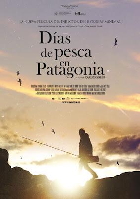 Cartel Días de pesca en la Patagonia Carlos Sorín