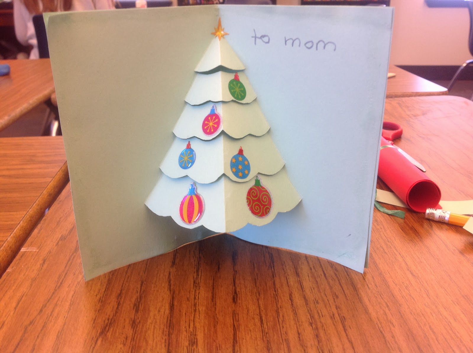 Puddle wonderful learning diy pop up christmas card today we made the cutest christmas cards at school i love pop up books and i was so excited to find this tutorial for making christmas cards in the style solutioingenieria Gallery
