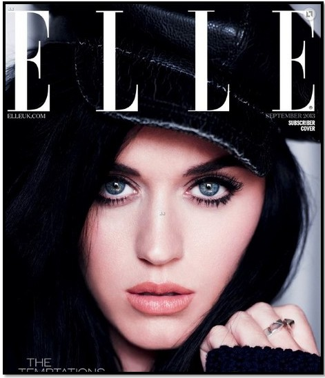 revista elle katy perry