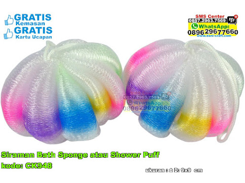 Siraman Bath Sponge Atau Shower Puff