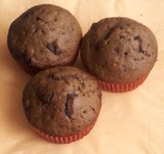 Chocolate chip muffins - muffinki z drobinkami czekolady