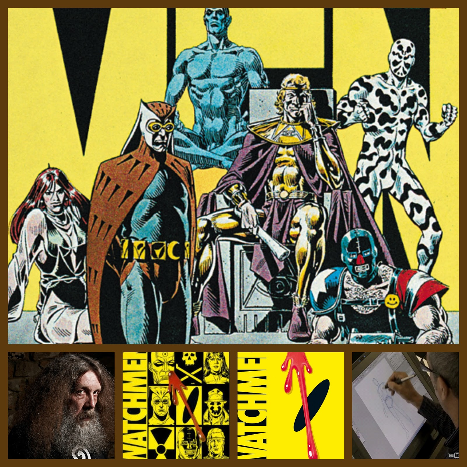 the contrast between the ozymandias and rorschachs in the watchmen by alan moore The city may fear him, but rorschach is a bigoted virgin who never bathes and  eats cold beans from the can  to bore down to the numero uno jerko from  alan moore and dave  our three main contenders for the title of king jerk ( watchmen edition) are: the comedian - dr manhattan - ozymandias.