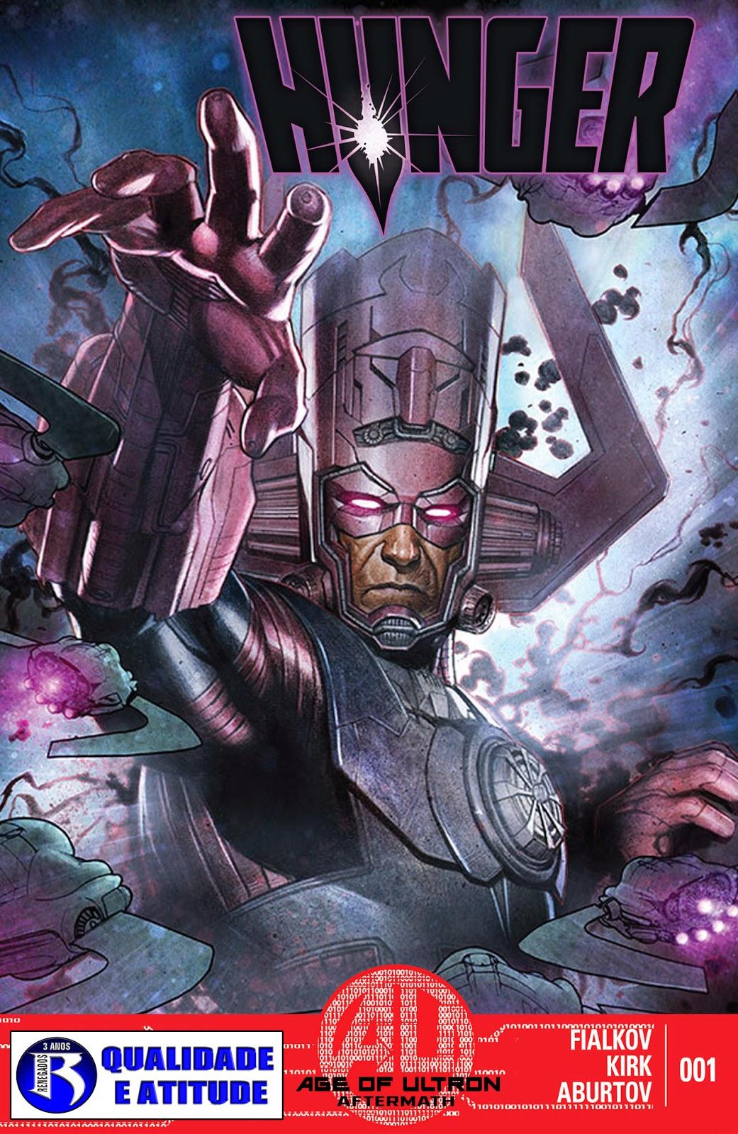 Nova Marvel! Faminto #1 (Opcional)