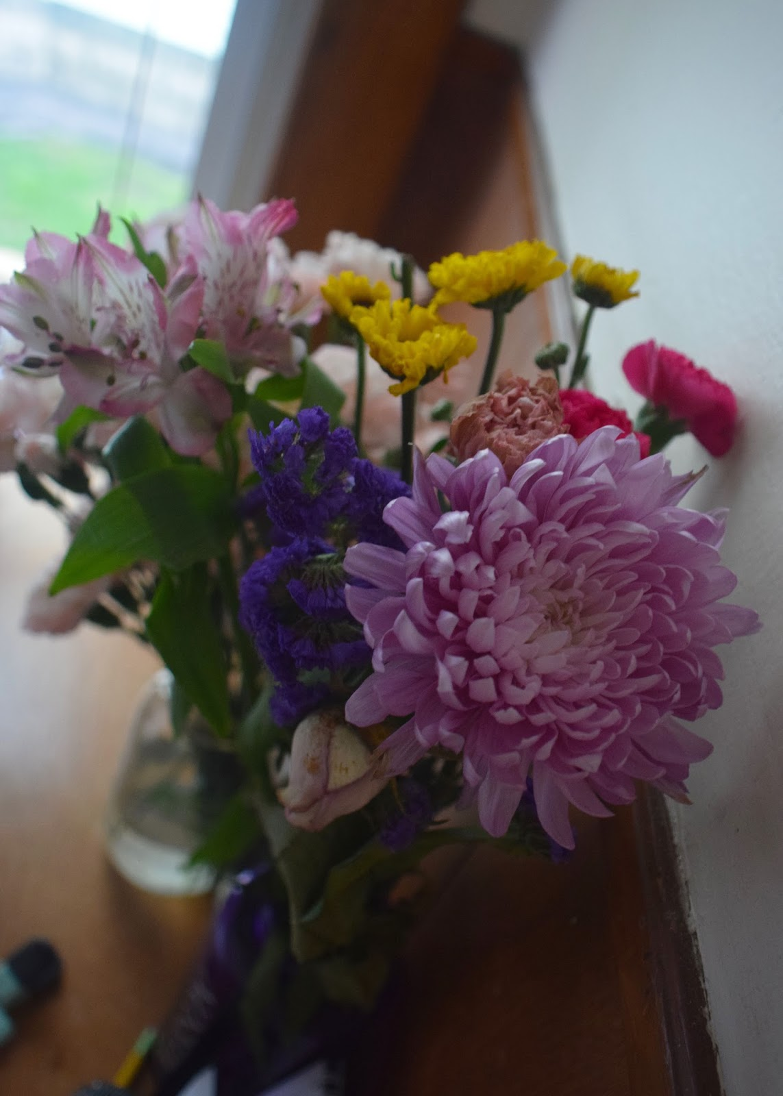 It's the Little Things - flower bouquet | Pennies & Paper Blog