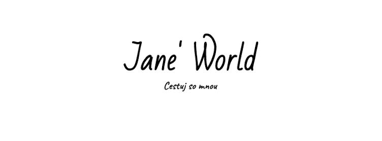 Jane´s world | Blog o cestovaní