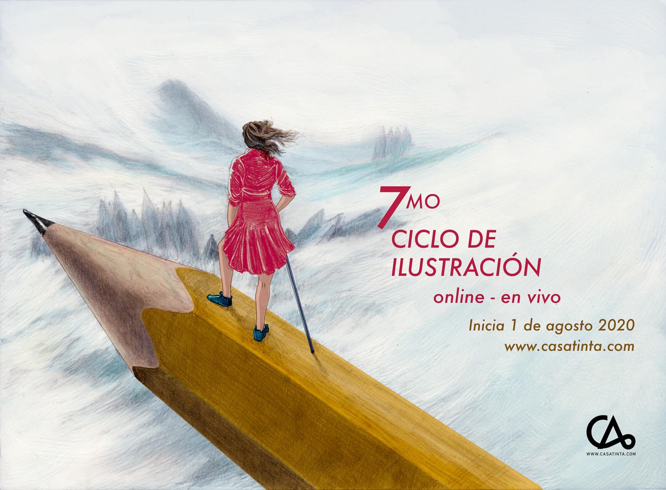 CICLO DE ILUSTRACIÓN / ago 2020
