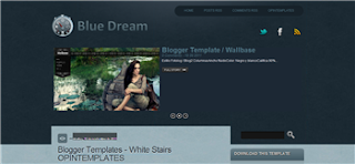 Blue Dream Blogger Template