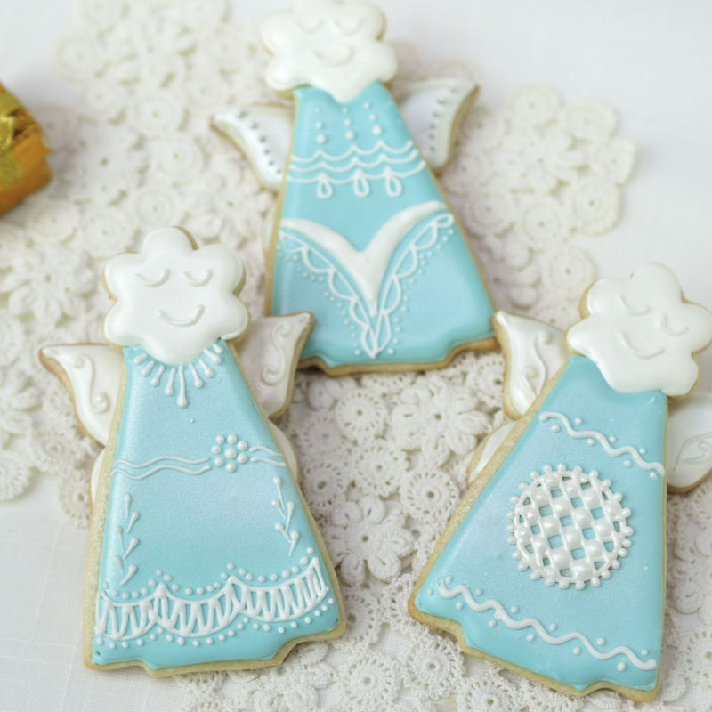 Haniela s christmas angel cookies