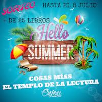 Sorteo Hello Summer en Templo de la lectura