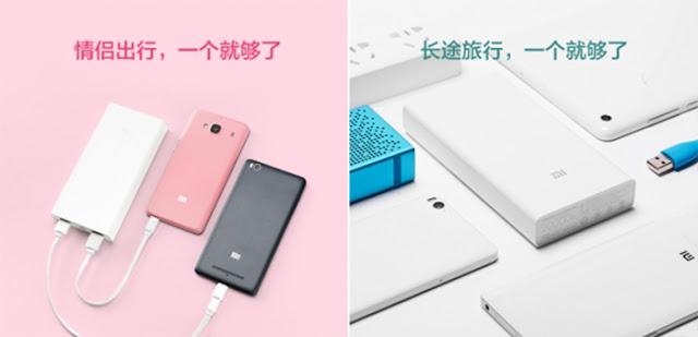 Xiaomi Mi Power Bank (20.000 mAh)