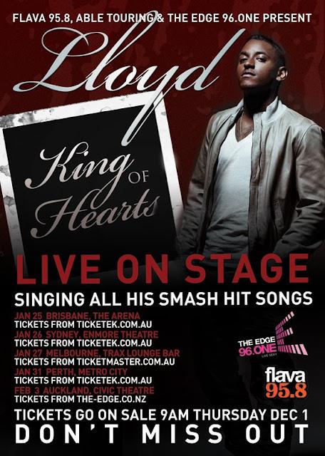 Lloyd LIVE in Australia