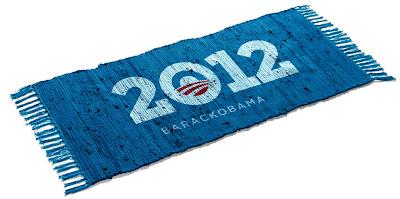 Obama 2012 Prayer Rug