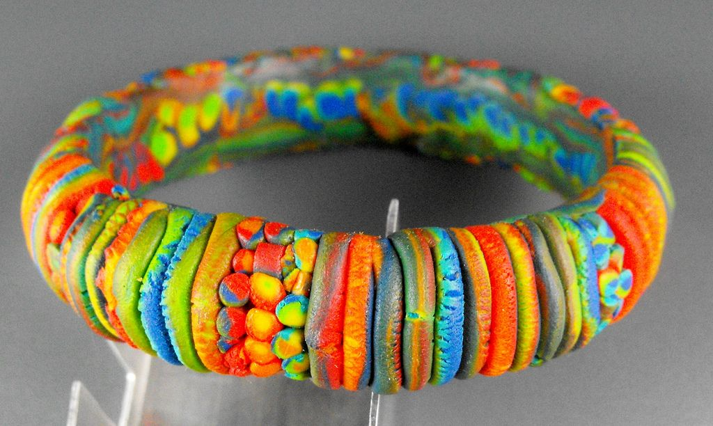 29. Rainbow Bangle