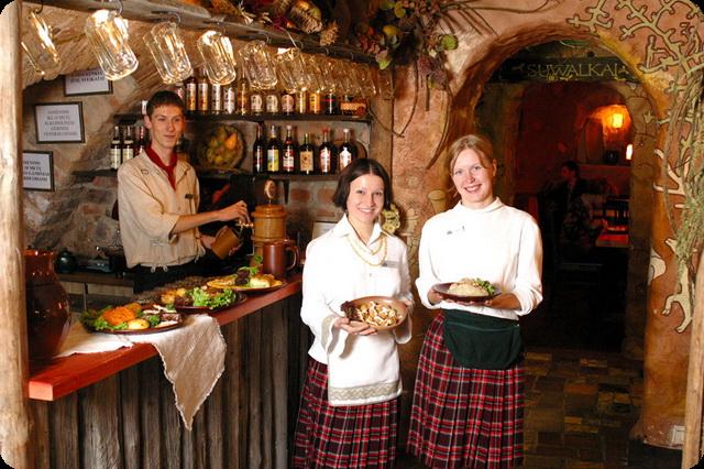 Лучшие рестораны и кафе Вильнюса
