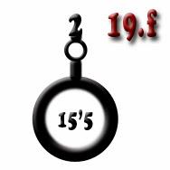 Ejemplo 19 f: Obús (x2) de calibre 15,5
