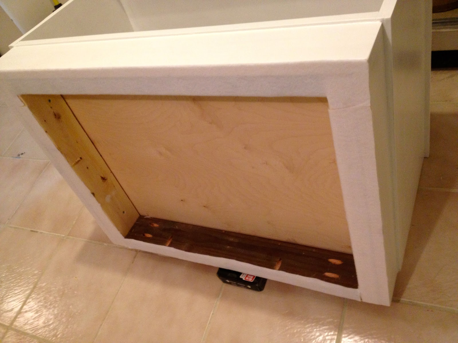 that s my letter diy dormer window seats 4 add white felt to bottom surfaces with spray adhesive