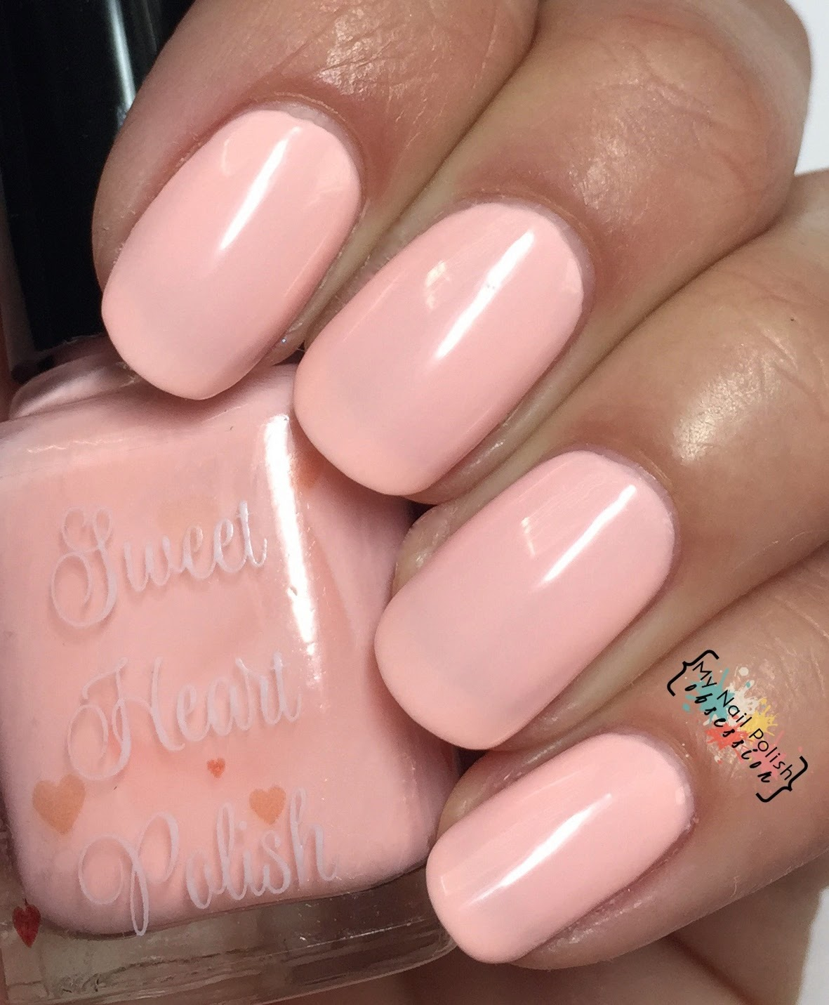 Sweet Heart Polish Peach Cobbler
