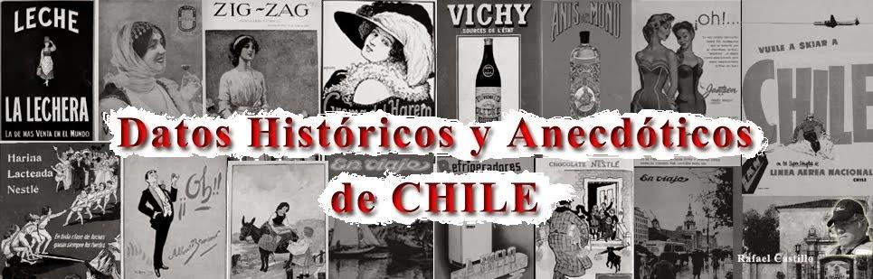 Datos históricos de Chile