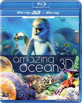 Amazing Ocean 3D (2013) 1080p BRRip 3D SBS 1.1GB mkv Latino AC3