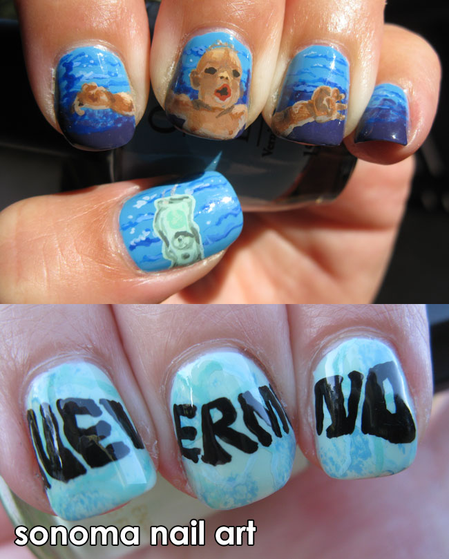 Sonoma Nail Art Oh Well Whatever Nevermind