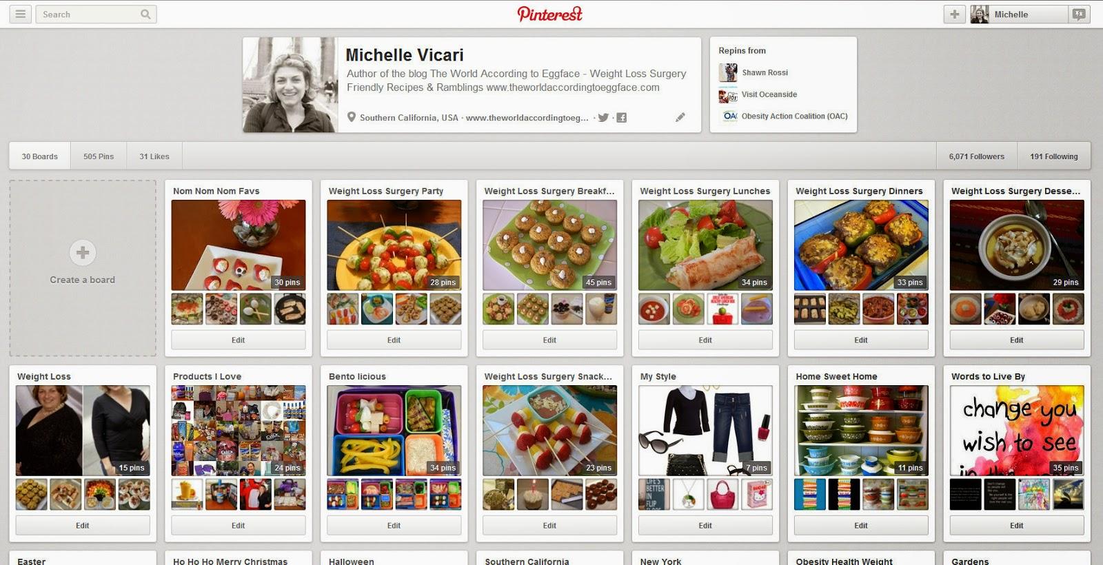 Michelle+Vicari+(eggface)+on+Pinterest+ +Mozilla+Firefox+832013+112653+PM Weight Loss Recipes Eggface Healthy Italian Food Pinterest Page