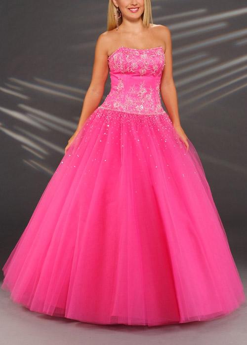 Pretty Pink Prom Dresses 101