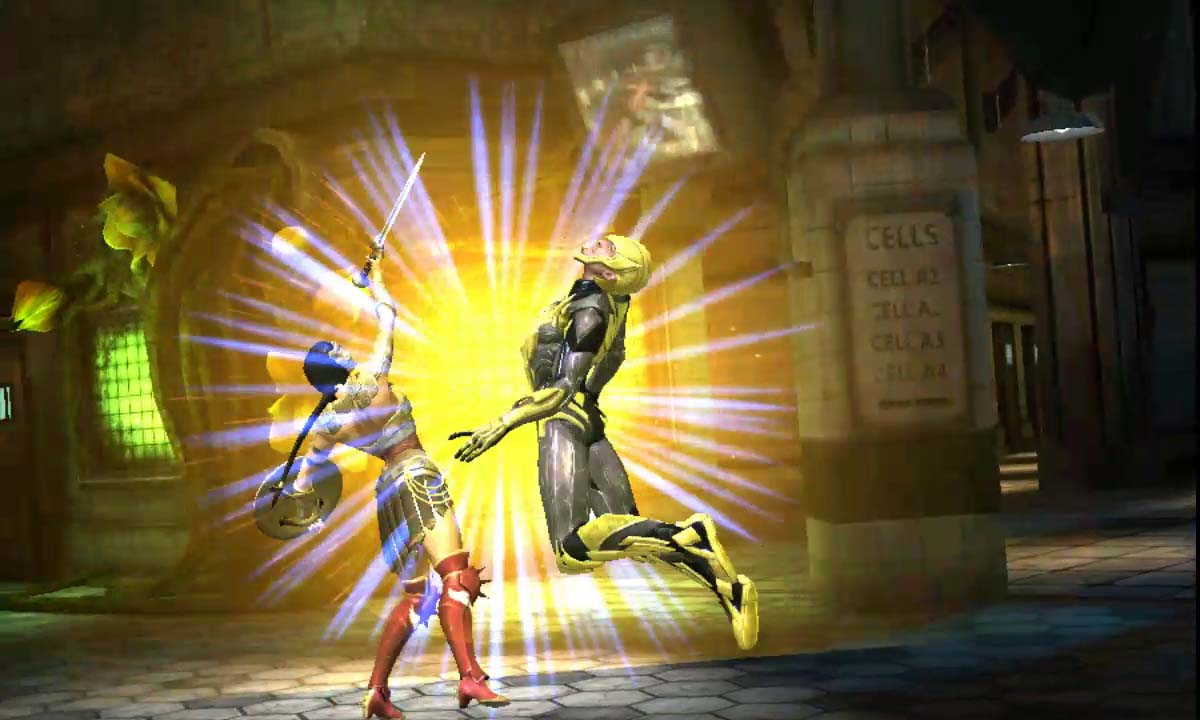 Wonder Woman Super Move Injustice