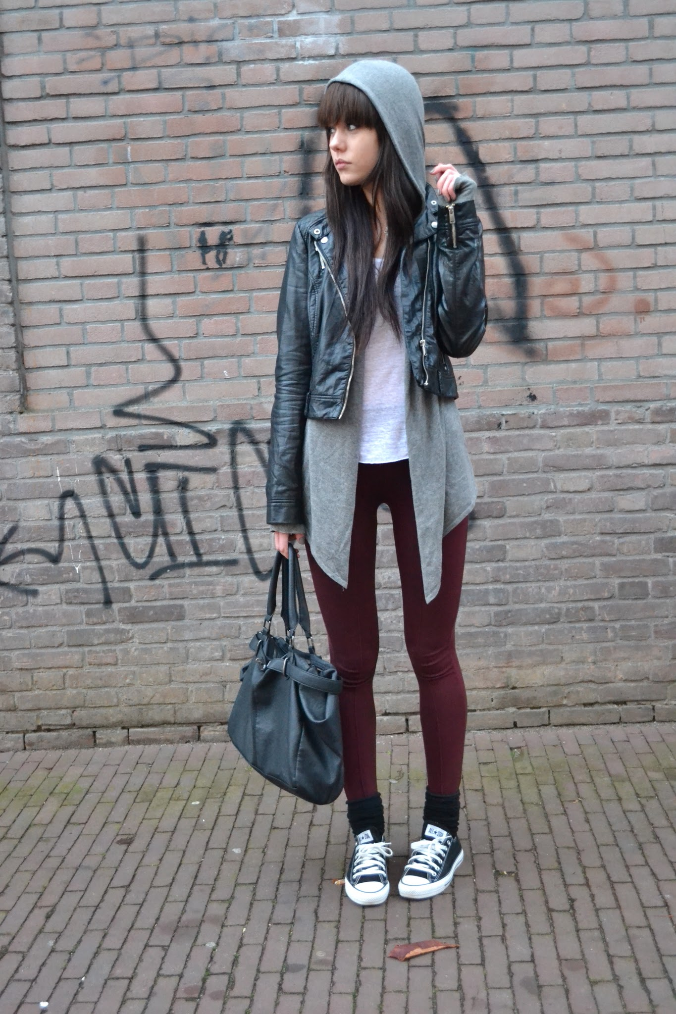stunning outfit with hoodie 8