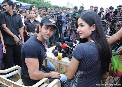 Hrithik and Katrina Kaif