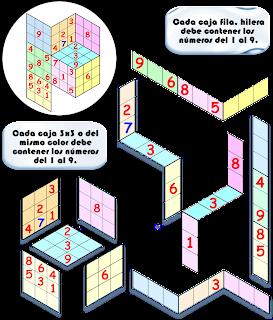 Tredoku, Sudoku tridimensional, Sudoku 3D