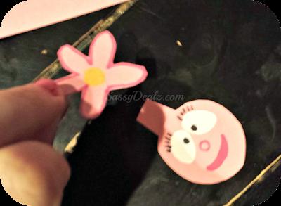 foofa yo gabba gabba finger puppet crafts