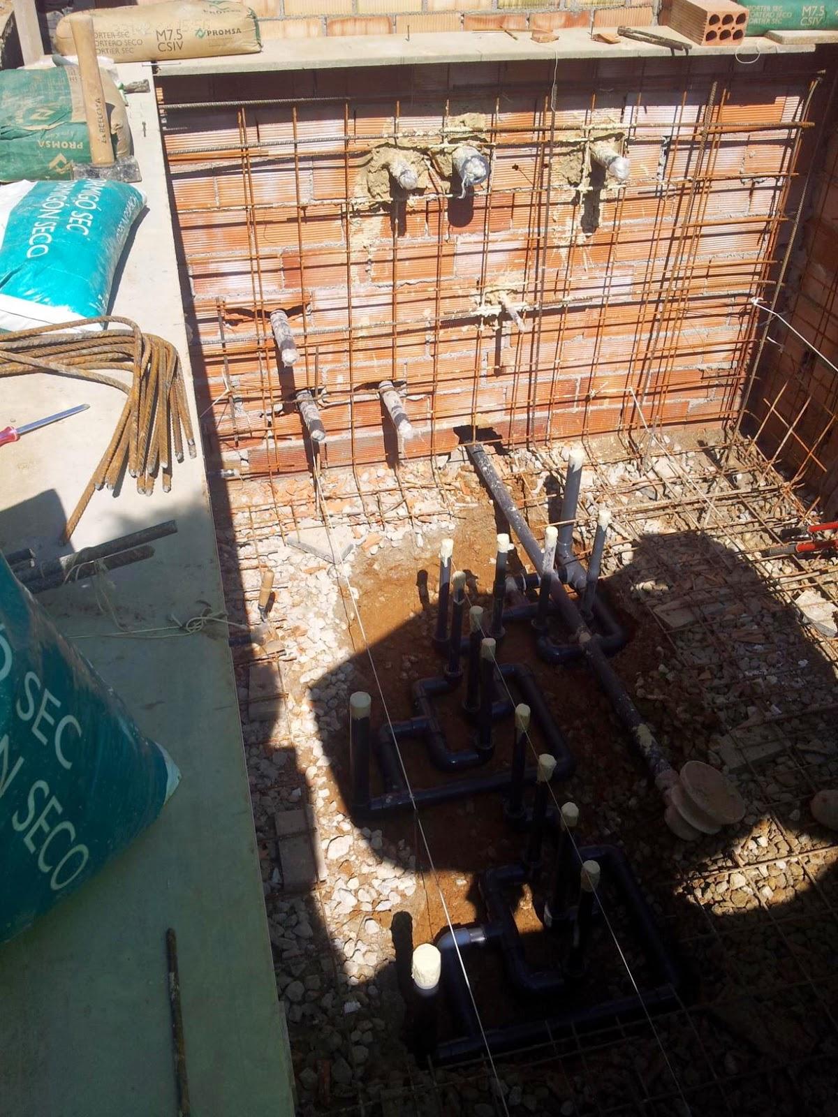 Construcci n reparacion y mantenimientos de piscinas - Construccion piscinas paso paso ...