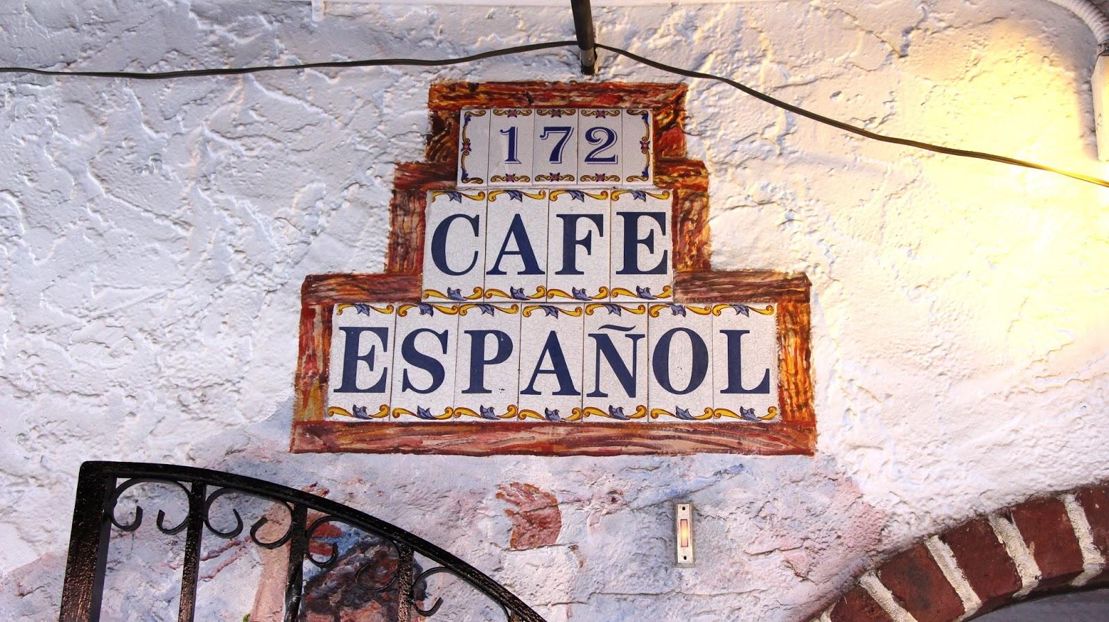 Cafe Espanol Bleecker Street New York